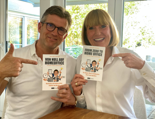 Pressemeldung – Das neue Buch: Von Null auf Homeoffice